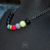 Necklace - black and colors-profile