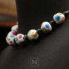Necklace with colorful and cheerful motif-profile